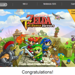 Nintendo of America is giving out Tri Force Heroes demo codes through select emails