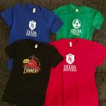 The store is open: Zelda Universe and Zelda Wiki t-shirts now available