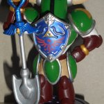 You'll dig this Shovel Knight amiibo with a Hylian makeover