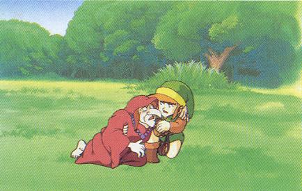 Link_and_Impa_(The_Legend_of_Zelda)