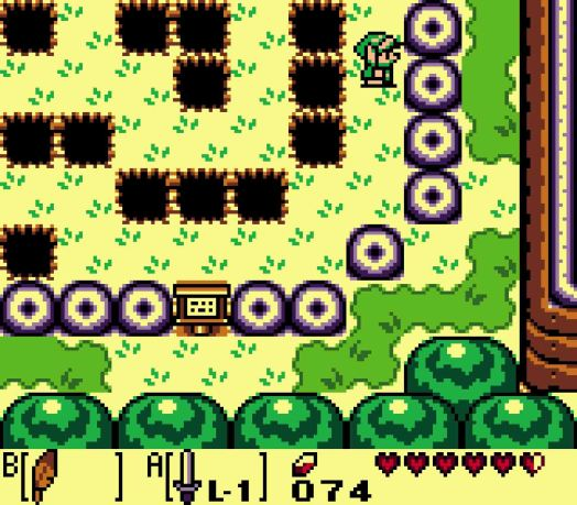Step Three Walk one tile east, and then go south to reach the wall. Then hug the wall all the way around until you travel north off the screen.