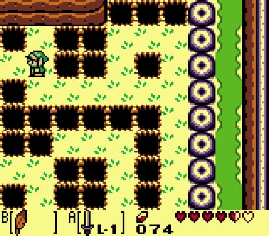 Step Four Head four steps north. Then head west five steps until you reach the tile before the edge of the screen. Head north one square and then proceed west.