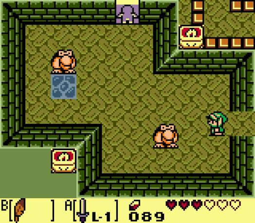 Step Three Return to the room in front of the miniboss' room and head west to find these two Pairodd. Defeat them before going through the one-way door to get your third key.