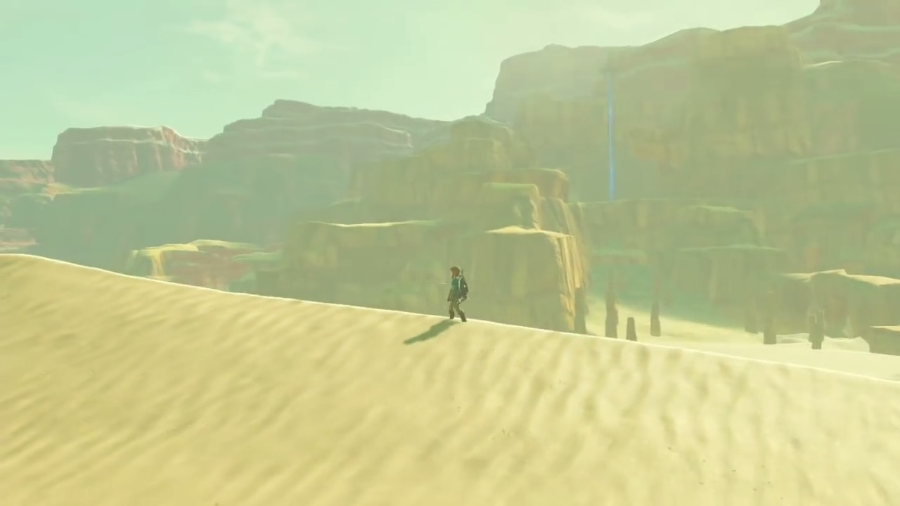 Image result for breath of the wild desert