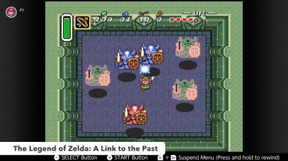 Screenshot of A Link to the Past from Sept. 3 2019 Nintendo Direct.