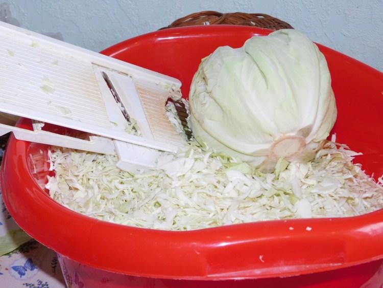 Шинкуємо капусту