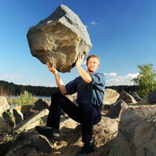 Саморобний камінь дляальпійської гірки чи японського саду.