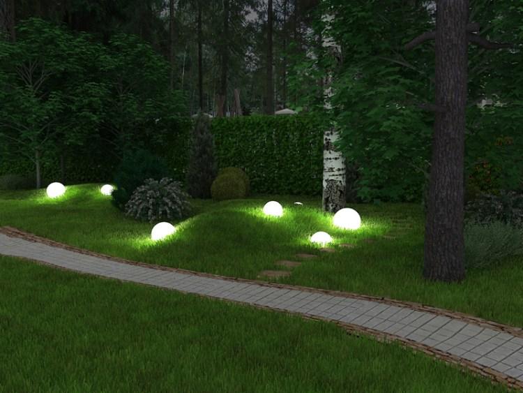 Подарує можливість насолоджуватися красою саду і вночі