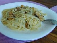 спагеті з мідіями