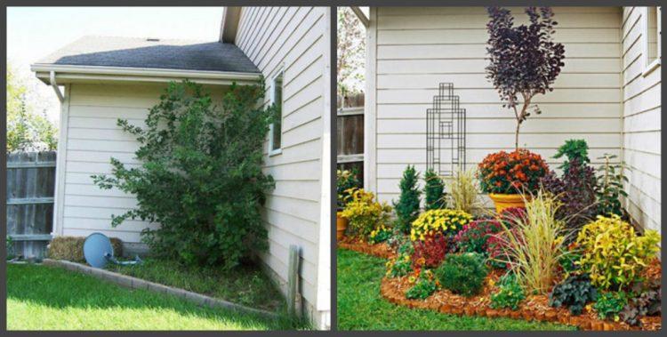 Ландшафтний дизайн подвір'я - до і після, фото 13