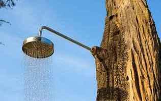 Літній душ на дачу – найпростіший варіант організації