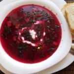 Перші страви – холодний суп з буряка чи окрошка