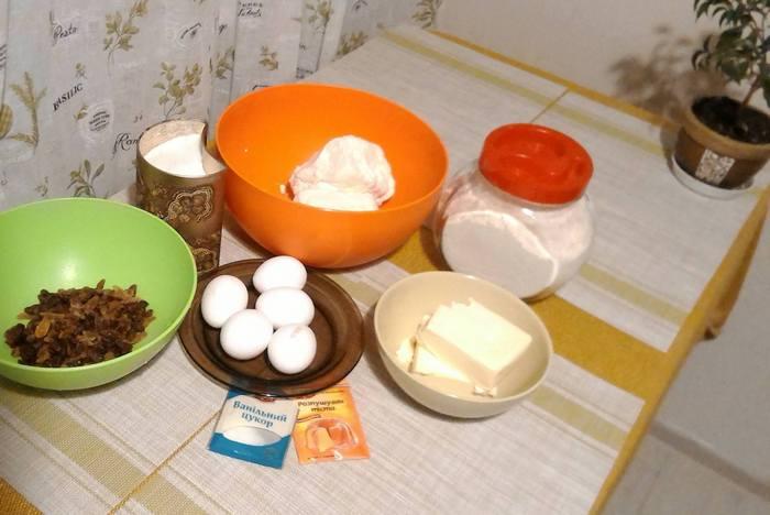 кекси сирні фото продуктів