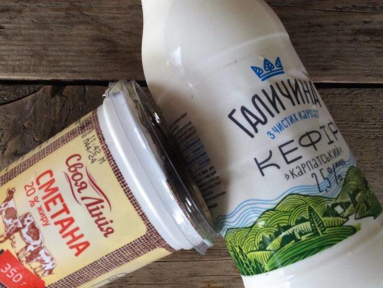 Інгредієнти для приготування домашнього сиру