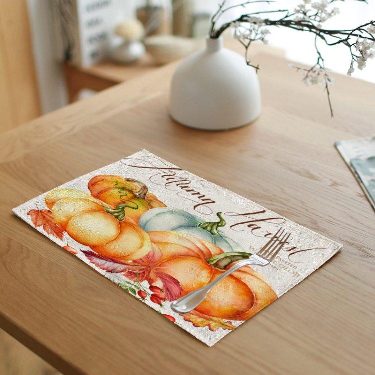 Паперові серветки з гарбузами