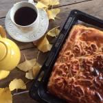 Пиріг з капустою на дріжджовому тісті
