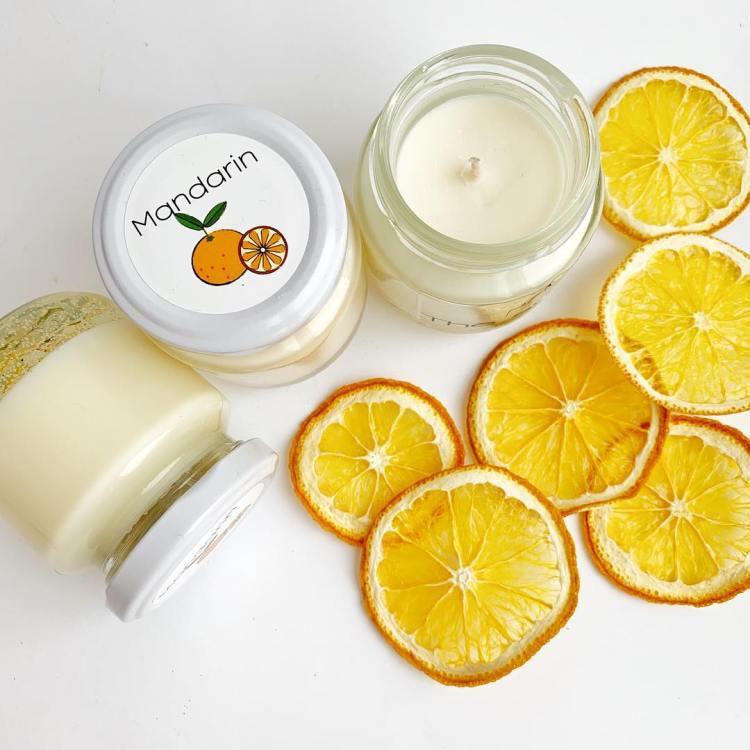 Свічка The svi4ka з ароматом мандарина