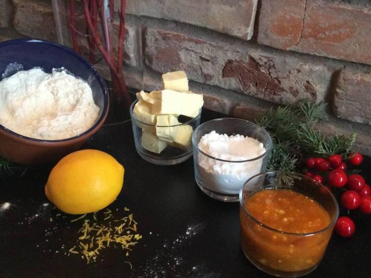 Продукти для різдвяного печива «Оченята ангела»