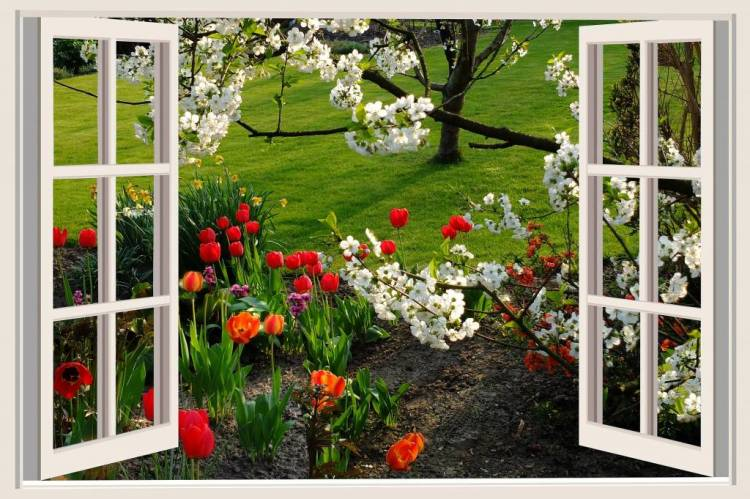 Роботи в саду і на городі в квітні