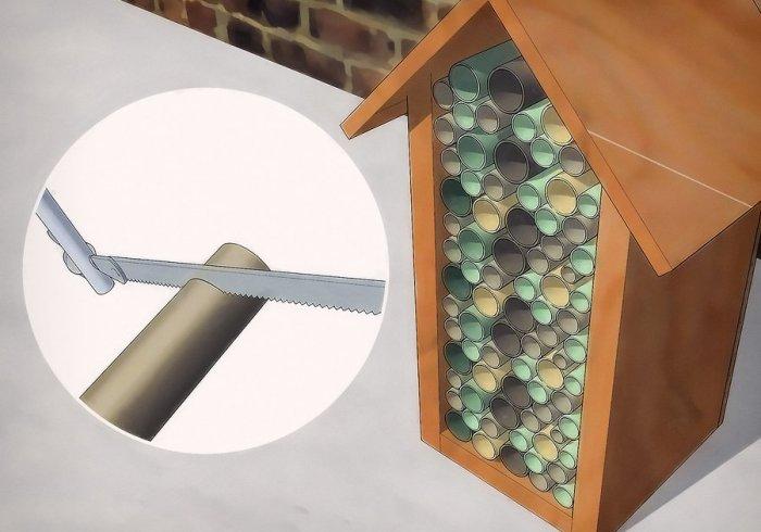 Наповнення будиночку для корисних комах