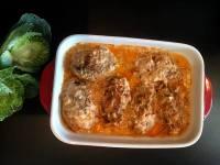 Ліниві голубці в томатному соусі