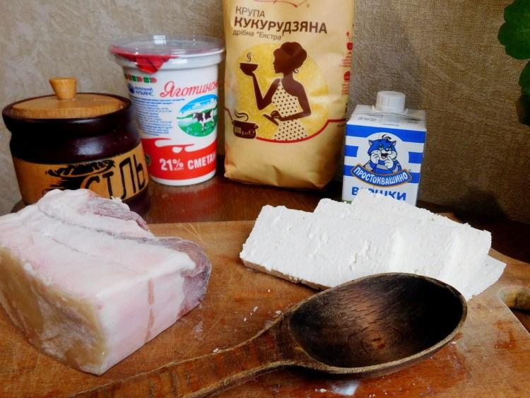 Інгредієнти для приготування баношу