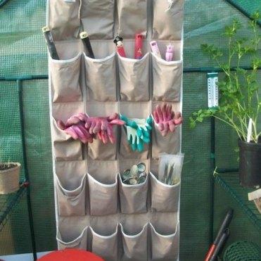 Організація садових інструментів та іншого інвентарю