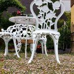 Садові меблі для романтичного саду — 40 фото