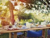 Сніданок, обід або пікнік на свіжому повітрі — 45 ідей для дачі