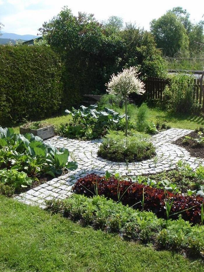 Дизайн саду потаже