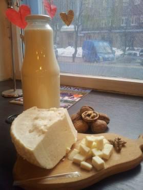 Дегустація козиного молока та адегейського сиру від Євгена Васяновича