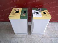 Бокси для комбінованих видів сировини: паперові склянки, ПЕТ пляшка, кришечки