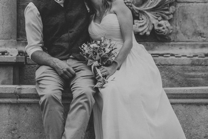 dubrovnik old town elopement wedding