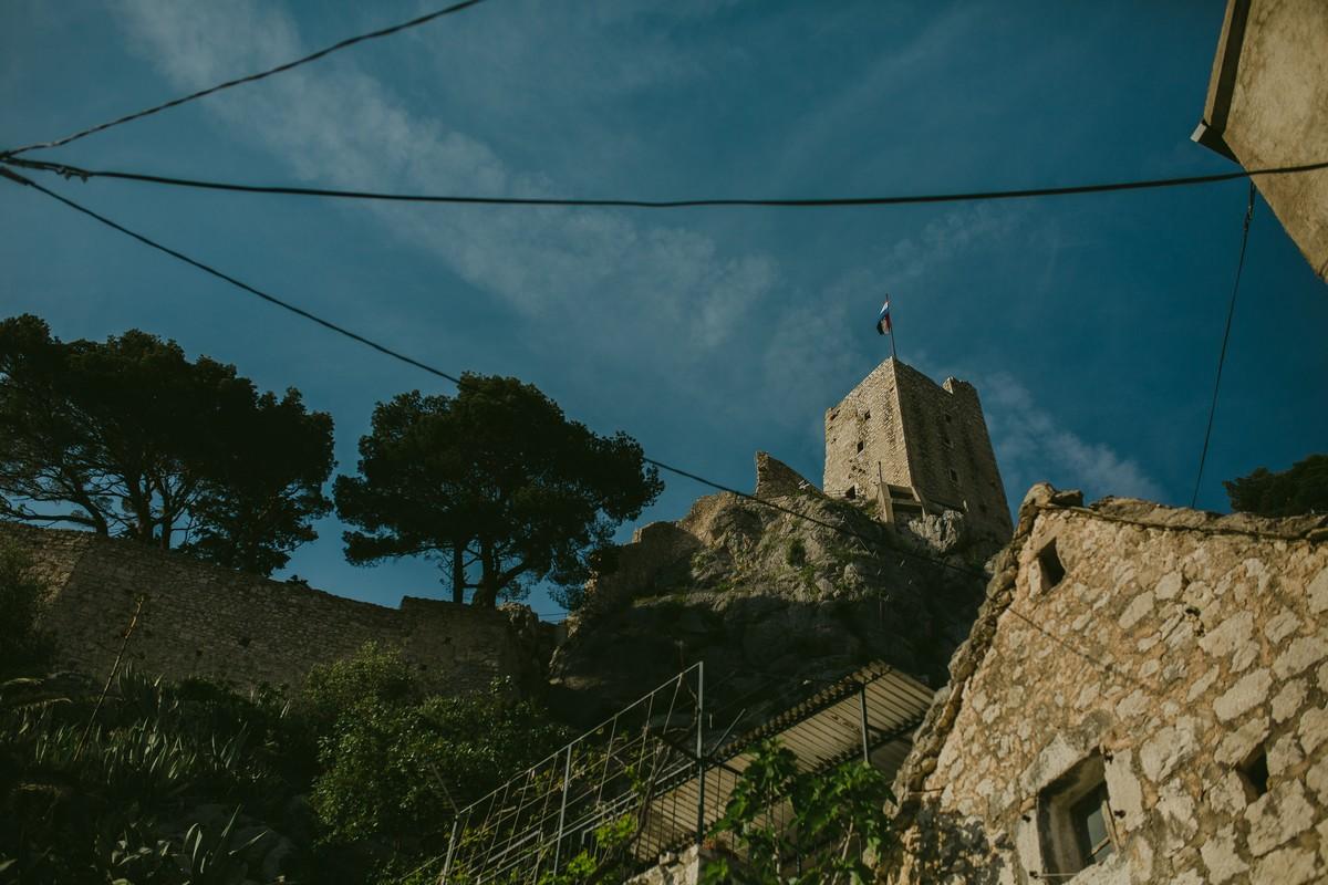 tvrađava fort omiš hrvatska croatia