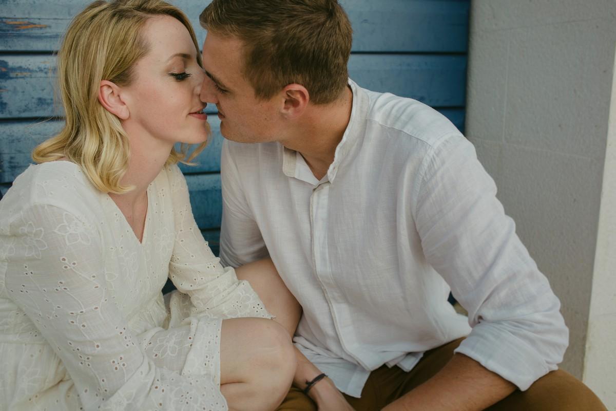 engagemet session kiss
