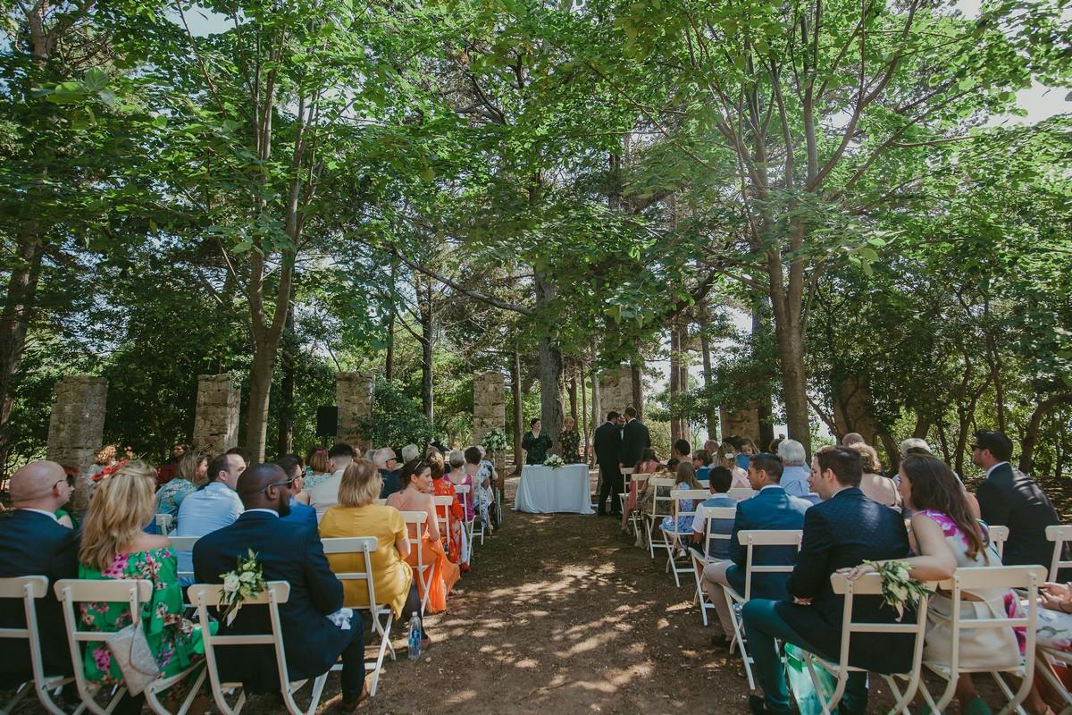 lokrum wedding ceremony