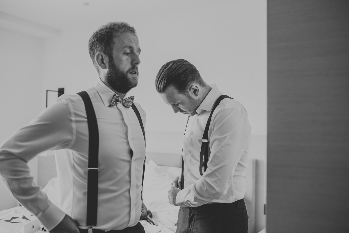 groom and best men