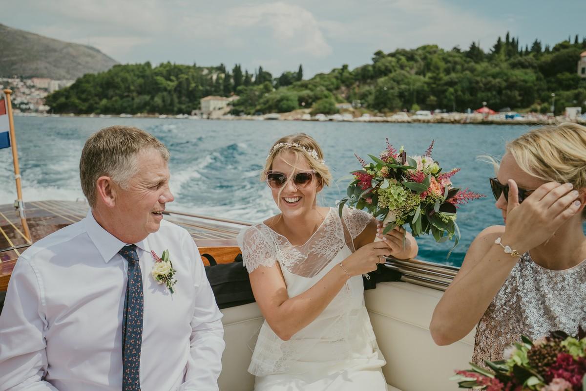 boat ride dubrovnik island