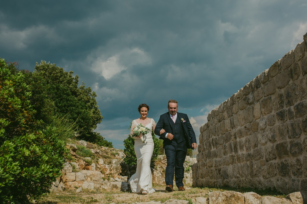 bride and father park orsula