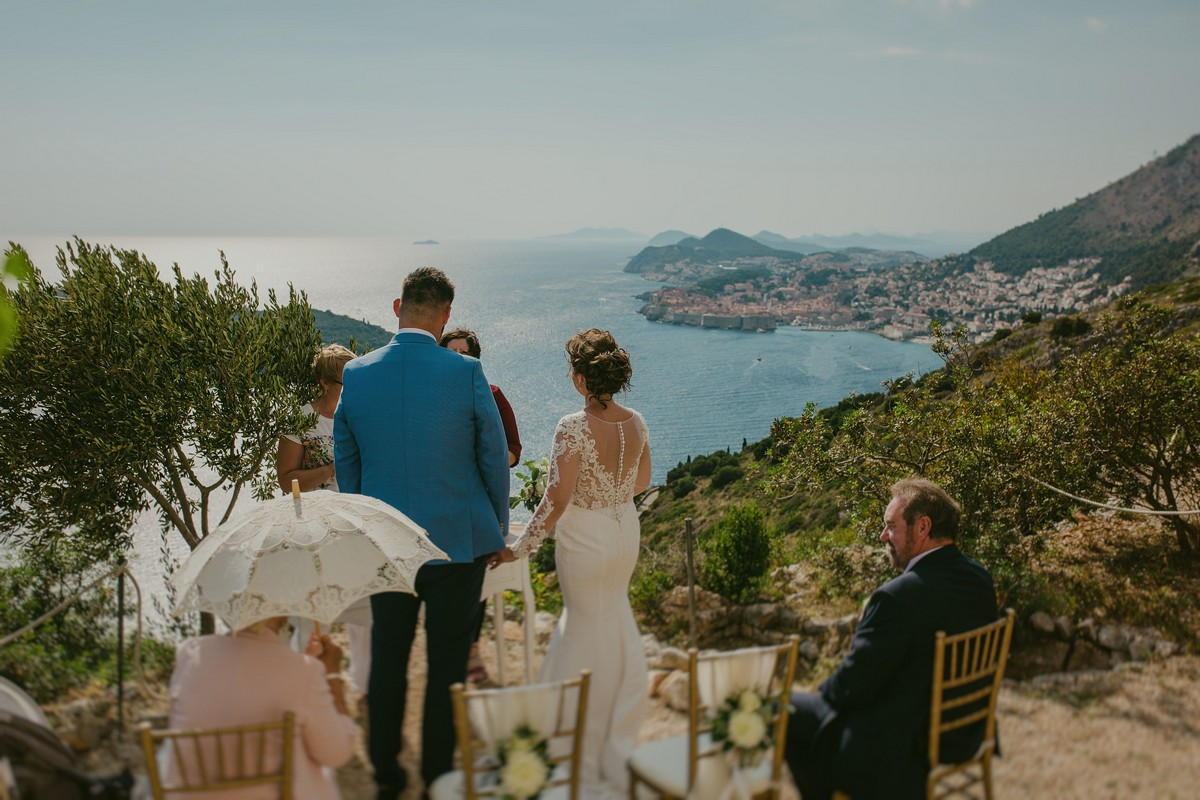 wedding ceremony park orsula