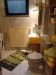 Das Bad Ihrer ferienwohnung auf dem bauernhof, Zeltnerhof