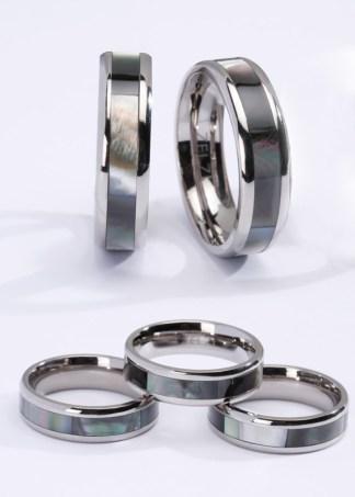 Esra titanium ring