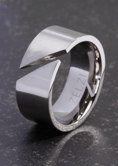 Evanthe titanium dames ring