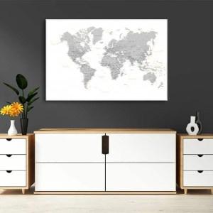 zemelapiai ant drobes, zemelapaiantdrobes, žemėlapis su smeigtukais, pasaulio žemėlapiai ant sienos.