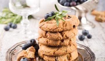 Recette Keto : Superbes biscuits aux myrtilles