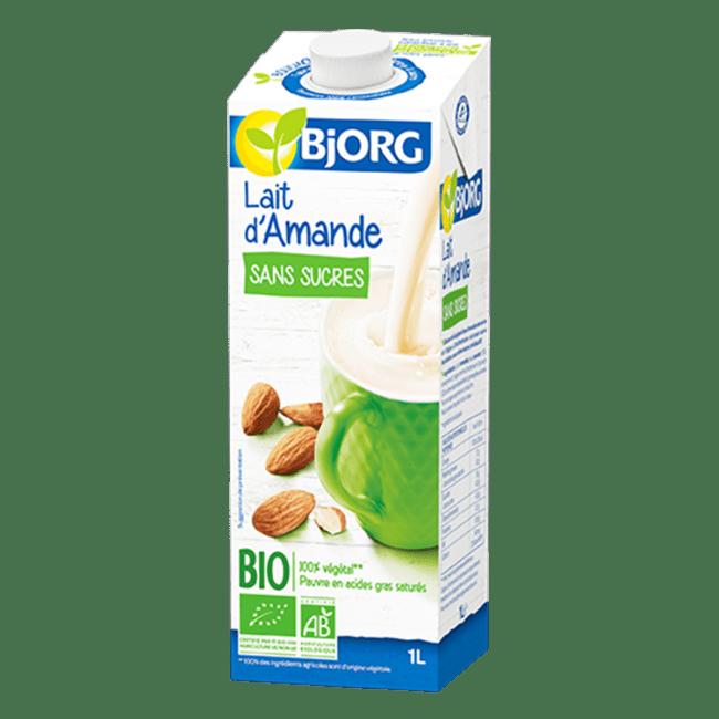 lait amande bio