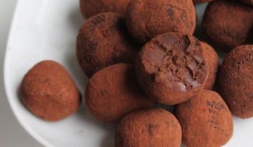 Recette : Truffes au chocolat