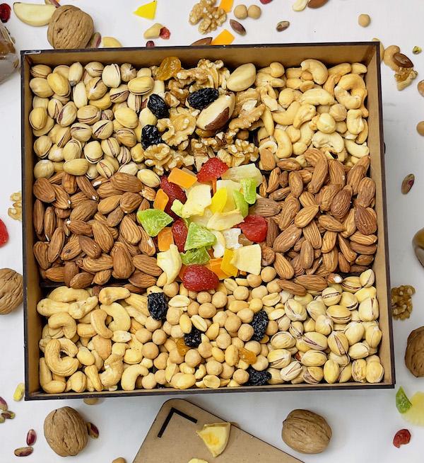 box aïd el fitr tunisie fruits sec