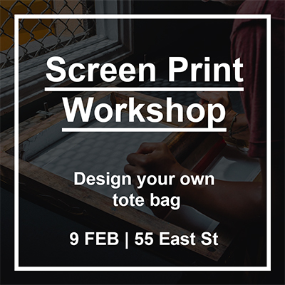 Zé Monteiro screen print workshop