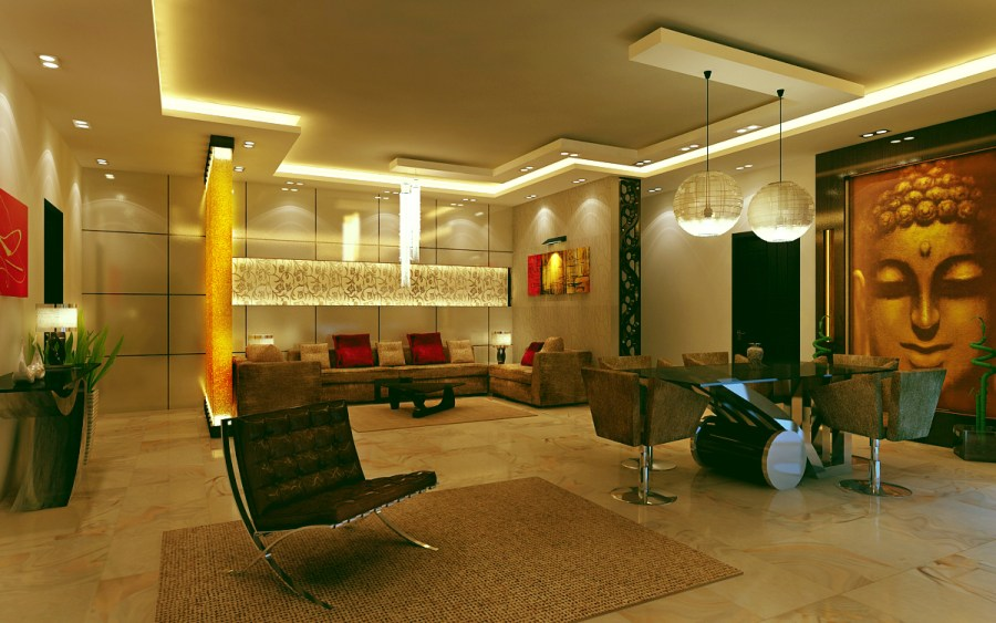 Interior Designing a Way to Bring Positivity in Home and Office   Zemsib Interior Designing